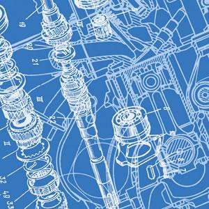 机械构成设计手绘